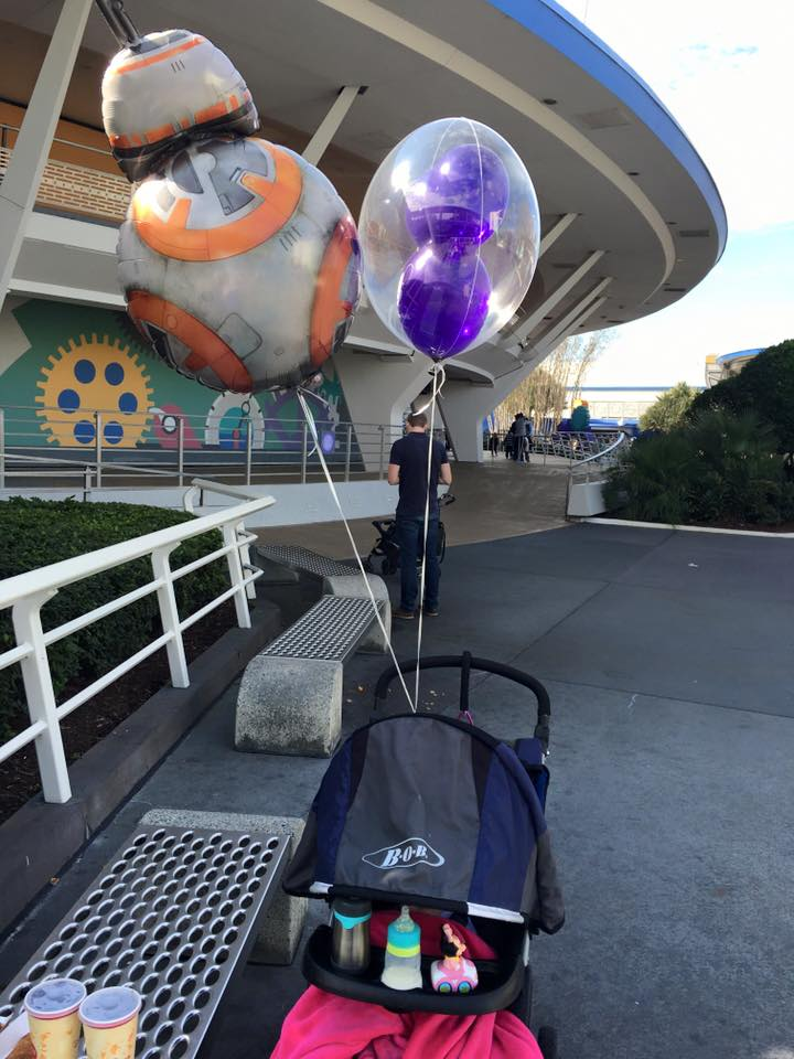 stroller balloon